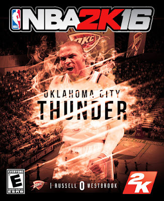 NBA 2K16 Custom Covers - OKC Thunder