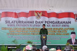 Silaturrahim di Bagu, Gubernur Undang Wakil Presiden Nonton Bareng MotoGP 2021