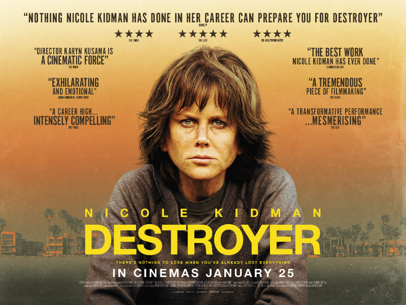 destroyer nicole kidman poster
