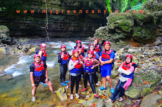 Spot lokasi utama green canyon