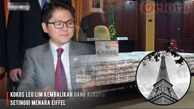 Balikin Uang Korupsi Setinggi Menara Petronas, Ini Sosok Kokos Jiang