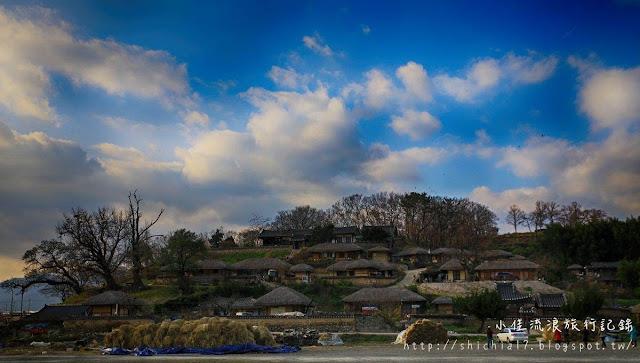 慶州良洞民俗村,五百年韓國傳統聚落