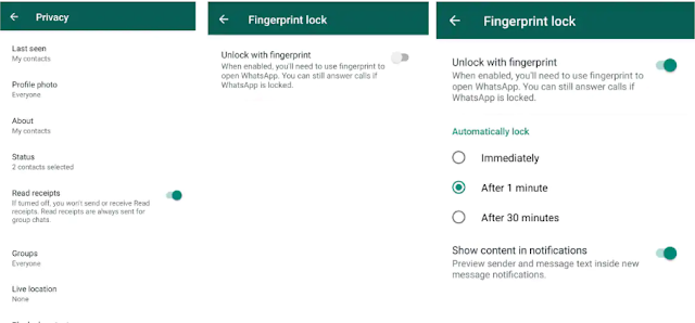 WhatsApp Android app will lock with fingerprint soon