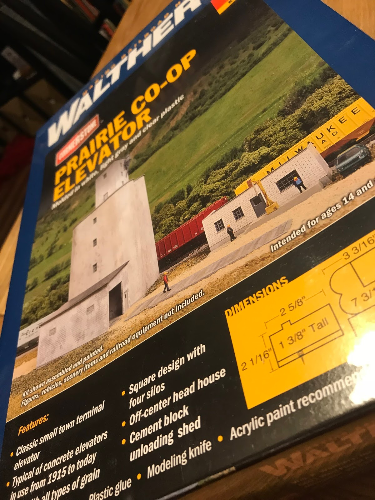 Southern Illinois Rails in N Scale: How Big is your Elevator?