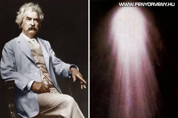Mark Twain és a Halley üstökös