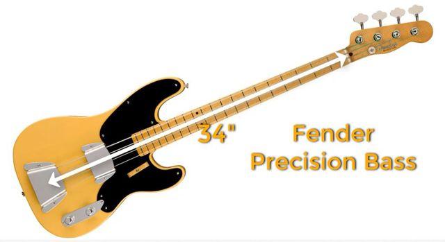 Fender Precision Bass Primer Bajo Eléctrico