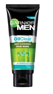 Garnier Men Oil Clear Deep Cleansing Face Wash (Price Rs 165)