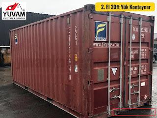 20lik yük konteyner