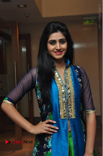 Actress Model Shamili Sounderajan Pos in Desginer Long Dress at Khwaaish Designer Exhibition Curtain Raiser  0017.JPG