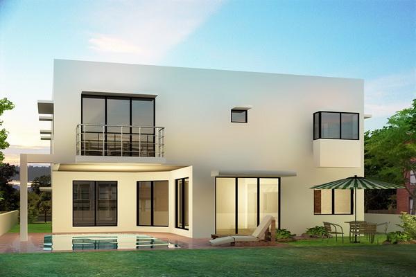 Fotos de fachadas de casas bonitas vote por sus fachadas for Casa minimalista una planta