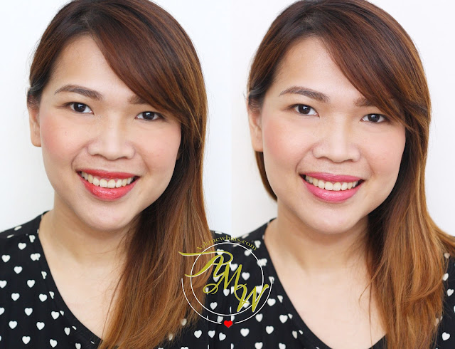 a photo of Dearberry Lip Service shade Berry Scarlet and Flirt Lipstick Italian Rose_askmewhats_Nikki_Tiu