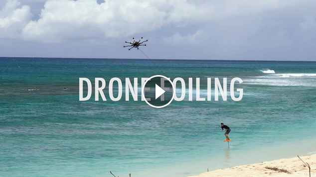 drone foiling