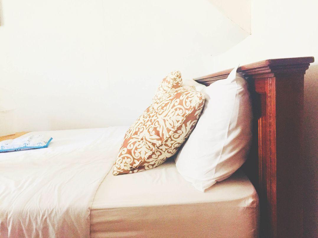The bed at Club Balai Isabel