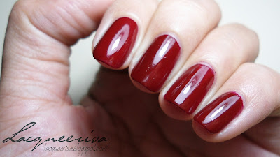 Tip Top Nail Chic Red Rendenzvous