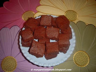 Margaret's Morsels | Microwave Brownies