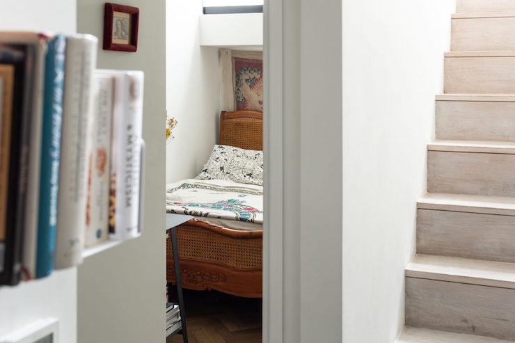 Dormitorio de estilo vintage