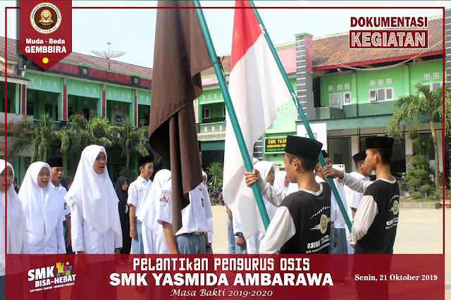 Pelantikan OSIS SMK Yasmida Ambarawa Masa bakti 2019-2020