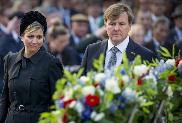 King Willem Alexander and Queen Maxima attend the National Remembrance ceremony