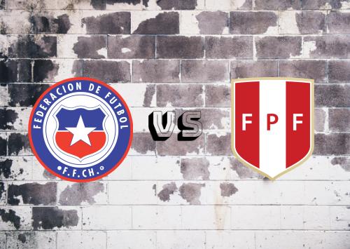 Chile vs Perú  Resumen y Partido Completo