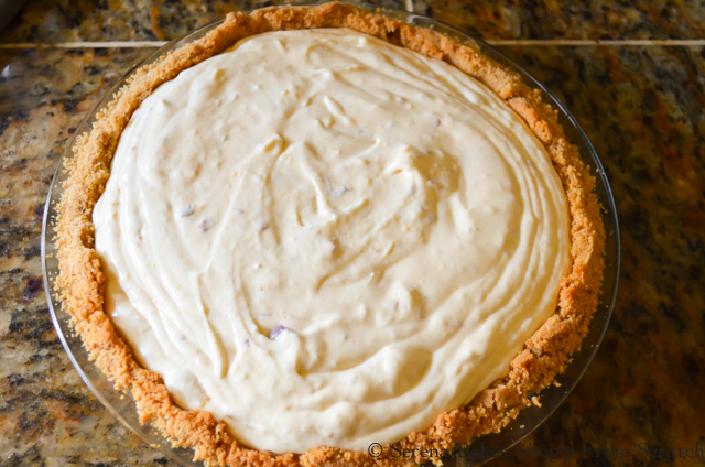 Frozen Peach Cheesecake using Fresh Peaches is a summertime icebox dessert recipes favorite!