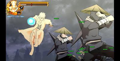 Naruto Impact Texture Mod Char Minato Bijuu Mode Terbaru