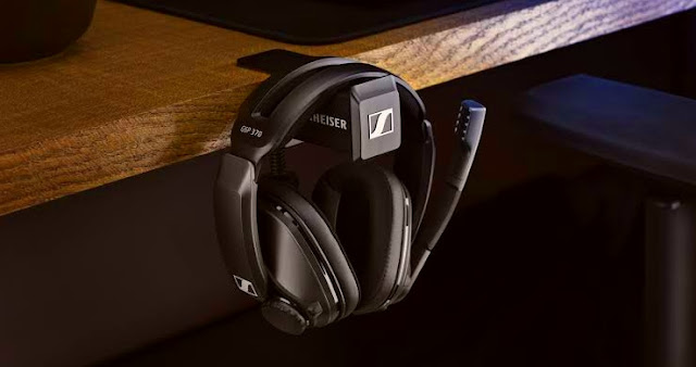 Sennheiser announces GSP 370 wireless headset for gamers with a 100-hour battery !
