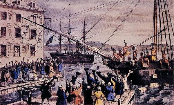 American History : The Boston Tea Party