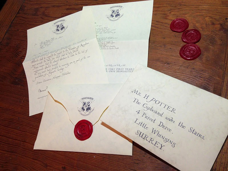 Digits The Perfect Hogwarts Acceptance Letter