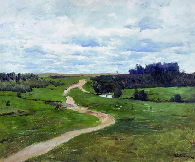 Исаак Ильич Левитан - Дорога. 1898
