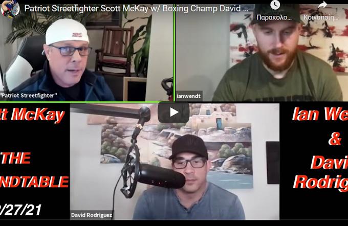 "Scott McKay Live - ""Patriot Streetfighter's"" Personal Meeting Room! - Must Video"