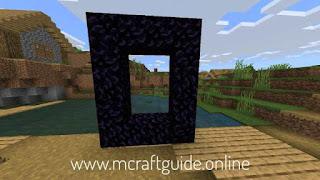 nether portal frame