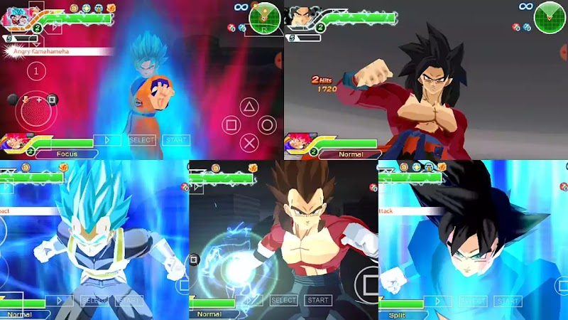 Dragon Ball Z Tenkaichi Tag Team Super Dragon Ball Heroes Mod