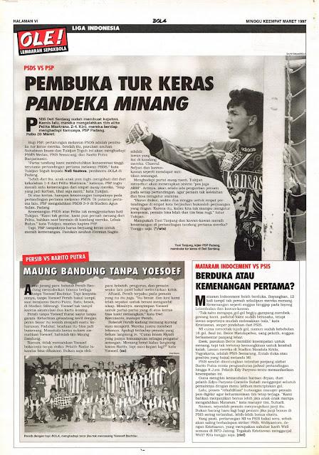 LIGA INDONESIA: PSDS VS PSP