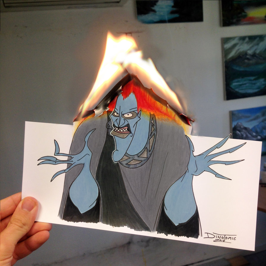 17-Hades-Burning-Hercules-Dino-Tomic-AtomiccircuS-Drawing-Painting-Tips-and-Digital-Art-www-designstack-co