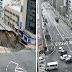 ELS JAPONESOS ARREGLEN EN 48 HORES L`ENORME ESVORANC DE FUKUOKA