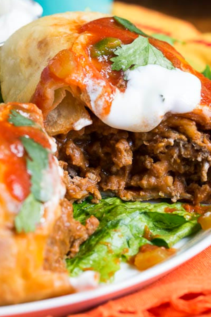 Chimichangas Beef Recipe