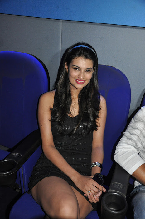 Latest Movies Gallery Sayali Bhagat Hot Black Skirt