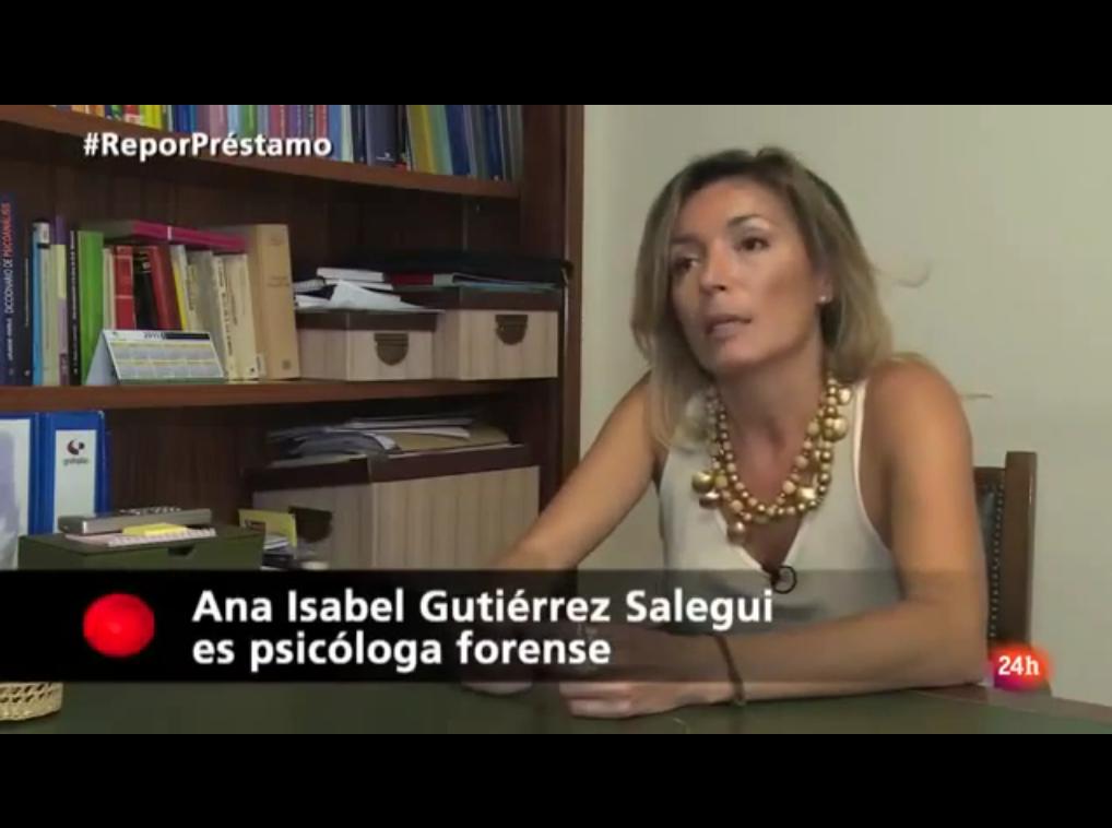 Ana Isabel Gutierrez Salegui 2015