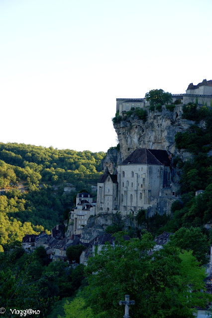 Vista panoramica di Rocamadour dall'Hospitalet
