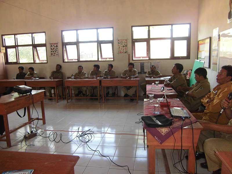 Pertemuan Kepala Sekolah Dasar Kec. Palengaan Pamekasan