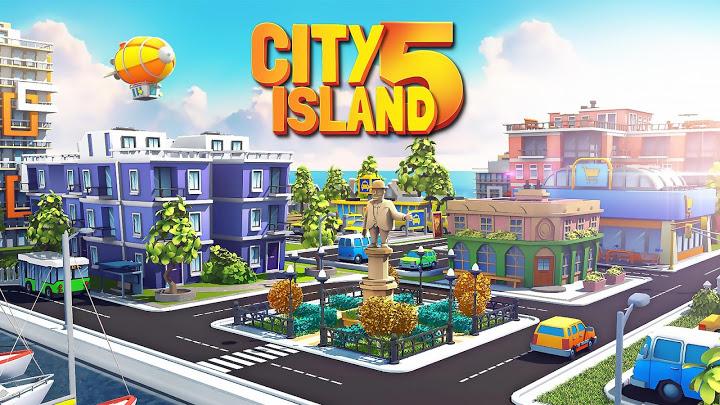 City Island 5 - Mô phỏng xây dựng thành phố tư bản Mod