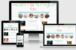 Lucy Beauty Responsive Multipurpose Blogger Template Free Download