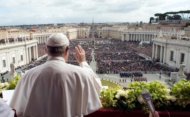 Resultado de imagen de papa francisco plaza san pedro