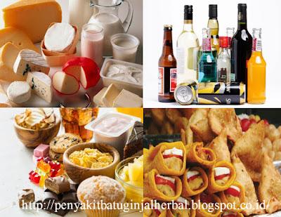 Pantangan Makanan Penderita Bronkitis