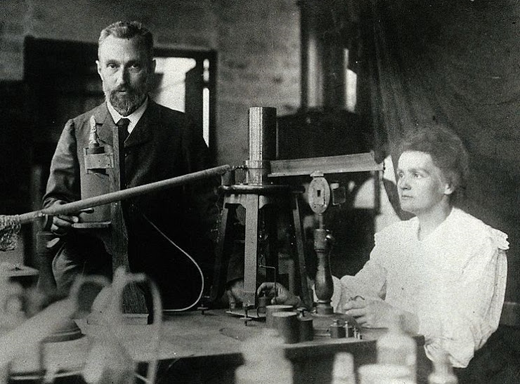 Marie y Perre Curie