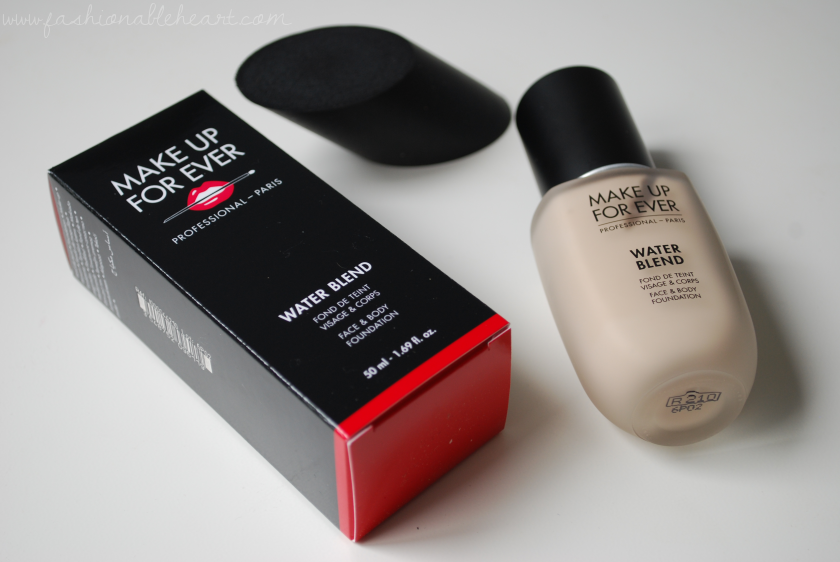 bbloggers, bbloggersca, canadian beauty bloggers, beauty blogger, glamsense, mufe, make up for ever, makeup forever, sephora, sephora canada, water blend, face and body, foundation, r210, pink alabaster, pale, porcelain, dry skin, ellipse blender, sponge, review, swatches, scent, staying power