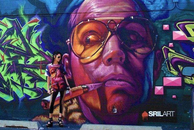 Grafiti Terbaik 2015 - anak Band
