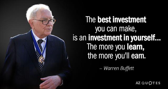 Investasi Diri Sendiri : Manfaat dan Cara Melakukan Investasi Ke Diri Sendiri