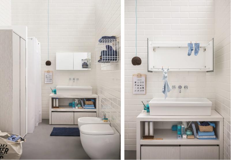 Estetica e funzionalit per la zona lavanderia blog di - Arredare lavanderia di casa ...