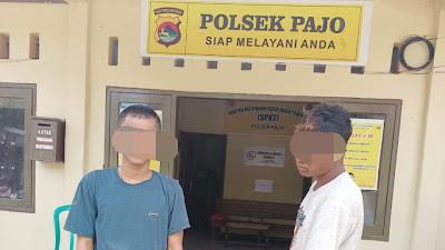 Kepergok Curi Kambing Hitam, Dua Pemuda Mendekam di Tahanan Mapolsek Pajo